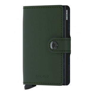 Secrid Porte-Carte Miniwallet Matte Green Black