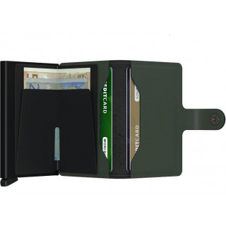 Secrid Porte-Carte Miniwallet Matte Green Black
