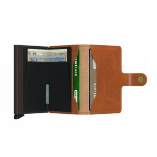 Secrid Porte-Carte Miniwallet Original Cognac Brown