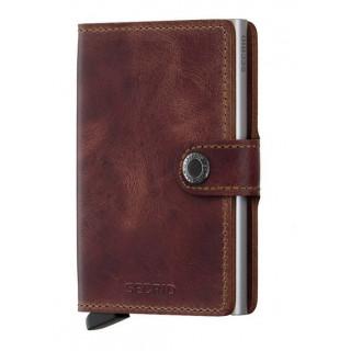 Secrid Porte-Carte Miniwallet Original Brown