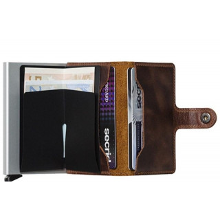 Secrid Porte-Carte Miniwallet Original Brown