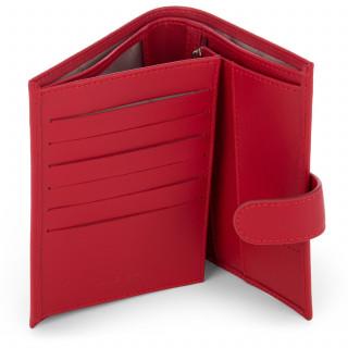 Lancaster Constance Porte cartes 137-15 Rouge ouvert