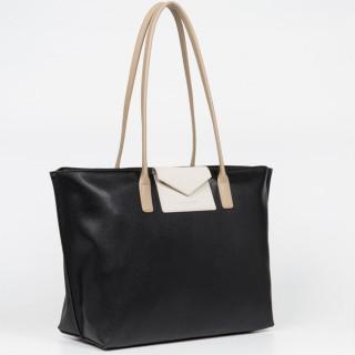 Lancaster Maya Grand Bag Cabas 517-20 Black In