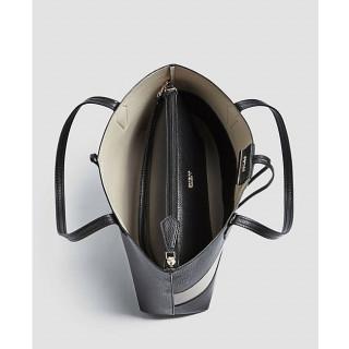 Guess Bobbi Sac Shopping 2 en 1 reversible Black Multi OUVERT