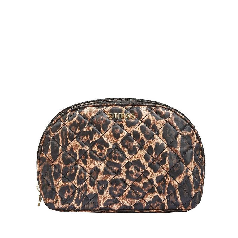Guess Famous Grande Trousse De Toilette Leopard