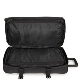 Eastpak Tranverz M TSA Sac de Voyage 55v Levelled Black ouvert