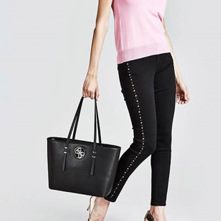 Guess Open Road Sac Cabas Black