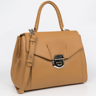 Lancaster Parisienne Sophia Grand Sac A Main Rabat 579-02 Sable