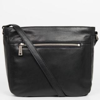 Lancaster Soft Vintage Axelle Crossbody Bag 578-86 Black