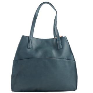 Farfouillette Sac Shopping 2 en 1 Bleu