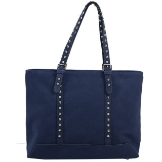 Lancaster Actual Smart Studs Grand Sac Shopping 517-61 Bleu Fonce