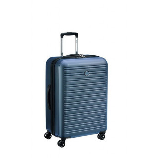 Delsey Segur 2.0 Valise Trolley 4 Roues 70 cm Bleu