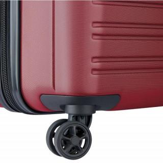 Delsey Segur 2.0 Valise Trolley 4 Roues 70 cm Rouge