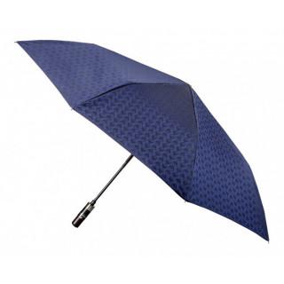 Parapluie Piganiol Homme Mini-Pliant Automatique Cubique Bleu