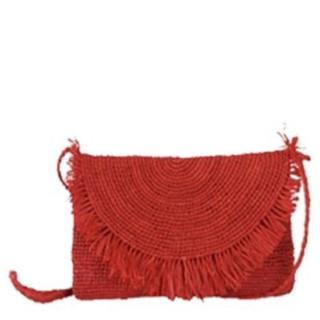 L'Atelier du Crochet Sac Trotteur Raphia Rouge