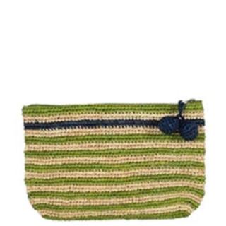 L'Atelier du Crochet Pochette Crochet Holi Anis Bleu Jean