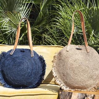 L'Atelier du Crochet Sac Rond Soledad Noir