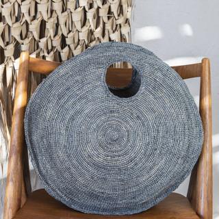 L'Atelier du Crochet Sac Rond Takisoa Thé