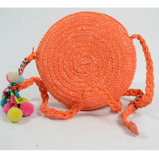 Le Voyage en Panier Smartie Sac Rond Enfant Orange