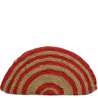 L'Atelier du Crochet Pochette Tacoa Rouge