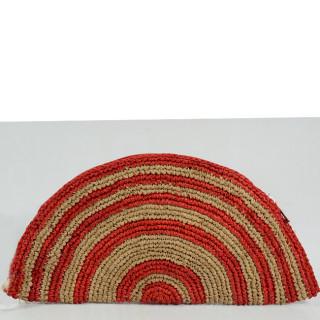 L'Atelier du Crochet Pochette Tacoa Rouge DOS