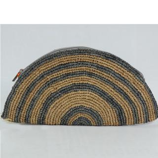 L'Atelier du Crochet Pochette Tacoa Gris