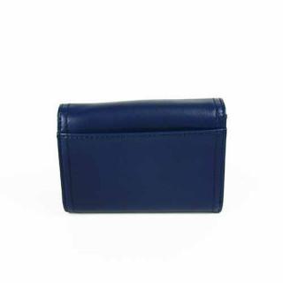 Lancaster Soft Vintage Porte Monnaie 120-21 Bleu Foncé dos