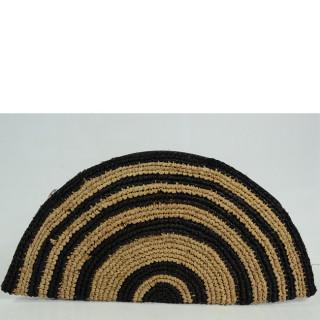 L'Atelier du Crochet Pochette Tacoa Noir