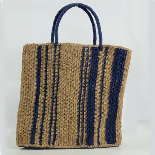 L'Atelier du Crochet Sac Cabas Vertiga Bleu dos