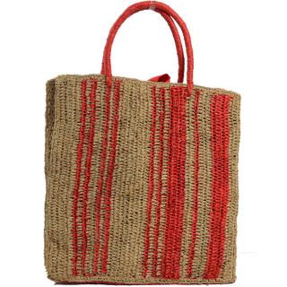L'Atelier du Crochet Sac Cabas Vertiga Rouge