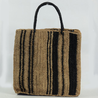 L'Atelier du Crochet Sac Cabas Vertiga Noir