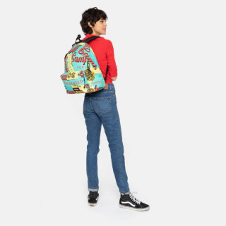 Eastpak Padded Sac à Dos Pack'R 76y Andy Warhol Mint porté
