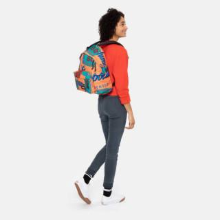 Eastpak Padded Sac à Dos Pack'R 74y Andy Warhol Carrot porté