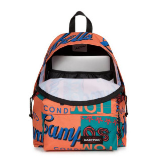 Eastpak Padded Sac à Dos Pack'R 74y Andy Warhol Carrot ouvert