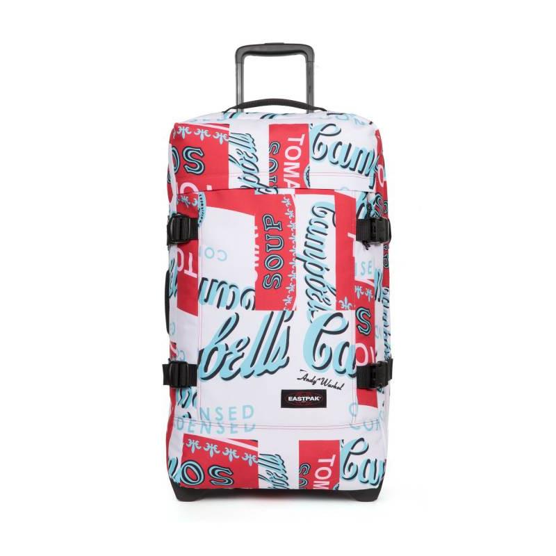 Eastpak Tranverz L (TSA) Sac de Voyage 76y Andy Warhol Tomato