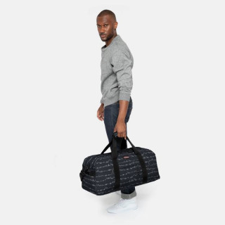 Eastpak Station + Sac Polochon 59x Beat Black porté