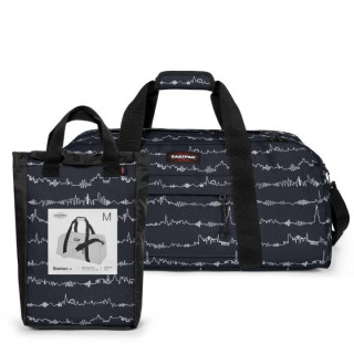 Eastpak Station + Sac Polochon 59x Beat Black face