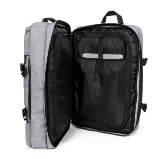 Eastpak Tranzpack Sac A Dos Business et Bagage Cabine 363 Sunday Grey ouvert