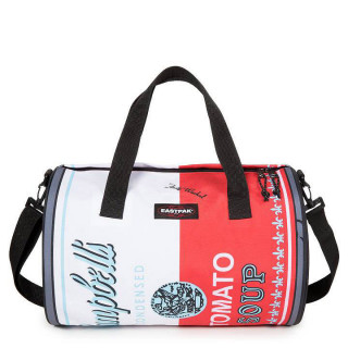 Eastpak Duffel Can Sac week End et Sac de Sport Andy Warhol Tomato Placed ouvert 1