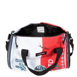 Eastpak Duffel Can Sac week End et Sac de Sport Andy Warhol Tomato Placed ouvert