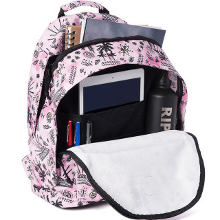Rip Curl Anak Sac à dos Double Dome Pink ouvert