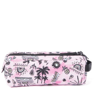 Rip Curl Anak Trousse Double Compartiment Pink cote