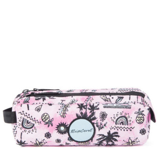 Rip Curl Anak Trousse Double Compartiment Pink