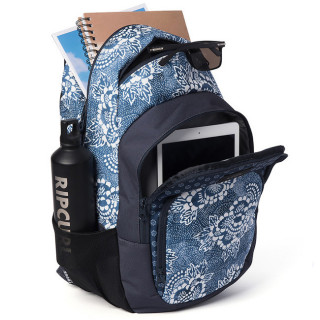 Rip Curl Costalview Overtime Sac à Dos Double Navy ouvert