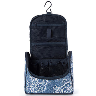 Rip Curl Coastalview Vanity Case Navy ouvert