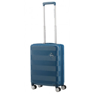 American Tourister Flylife Spinner 55 cm Valise Cabine Trolley 4 Roues Petrol Blue