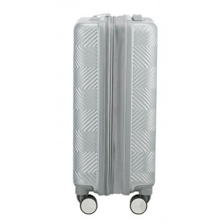 American Tourister Flylife Spinner 55 cm Valise Cabine Trolley 4 Roues Ciel Argent