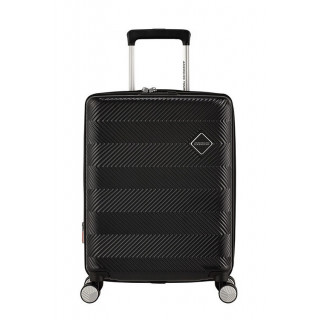 American Tourister Flylife Spinner 55 cm Valise Cabine Trolley 4 Roues Black