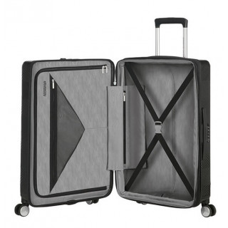 American Tourister Flylife Spinner 67 cm Valise Trolley 4 Roues Black