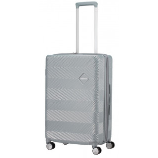 American Tourister Flylife Spinner 67 cm Valise Trolley 4 Roues Sky Silver